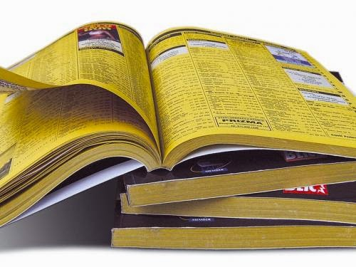 MBucher Consulting 20 Creative Uses for the Phone Book