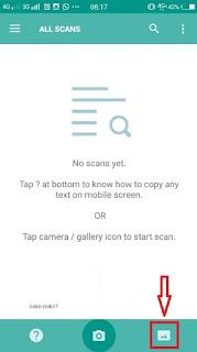 Cara Menyalin Teks Tulisan Yang Ada Pada Gambar Via Android