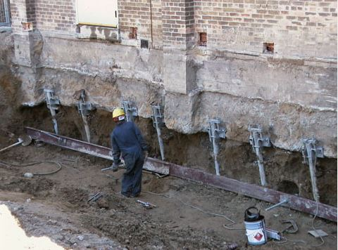 Fix Foundations Using Piers