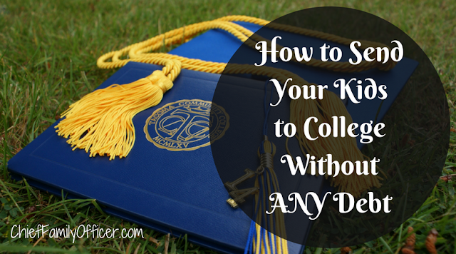How to Send Your Kids to College without ANY Debt