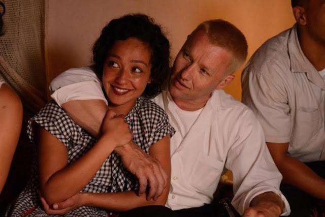 Joel Edgerton and Ruth Negga as Richard and Mildred Loving in Jeff Nichols' Loving