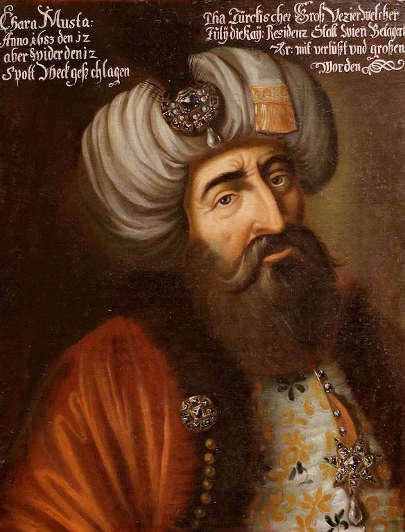 Kara Mustafá Pashá chefiou a invasão islâmica e o assalto de Viena em 1683