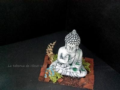 Estatua de Buda desde arriba