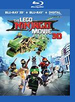 The LEGO Ninjago Movie 3D Blu-ray