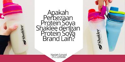 Apakah Perbezaan Protein Soya Shaklee dengan Protein Soya Brand Lain?