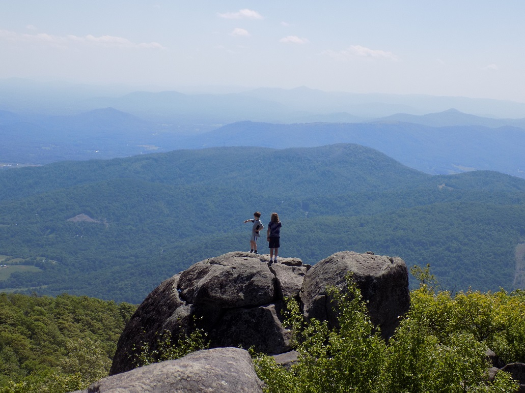 Central Virginia Blogger Hiking Off The Blue Ridge
