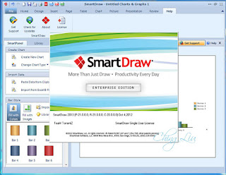 SmartDraw Screenshot
