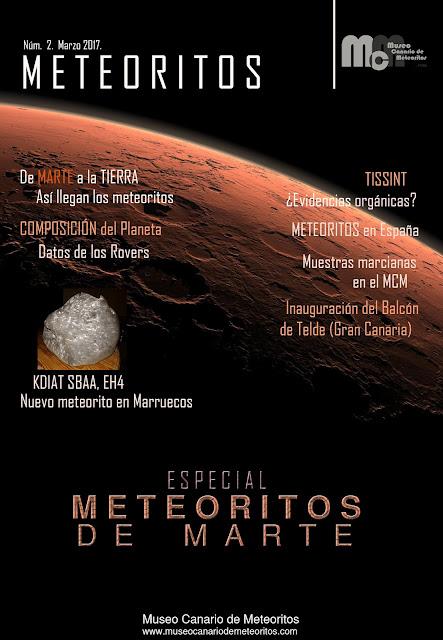 Revista METEORITOS 2.  Marzo 2017.