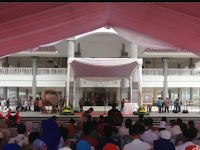 Jokowi Resmikan Masjid Raya KH Hasyim Asy'ari Jakarta