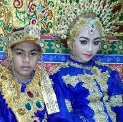 Pernikahan Remaja Usia 14 Tahun dengan Mahar Fantastis Ini Bikin Heboh