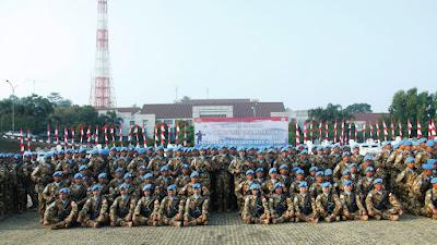 Panglima TNI : Jaga Nama Baik Indonesia Dalam Pelaksanaan Misi Pemeliharaan Perdamaian PBB