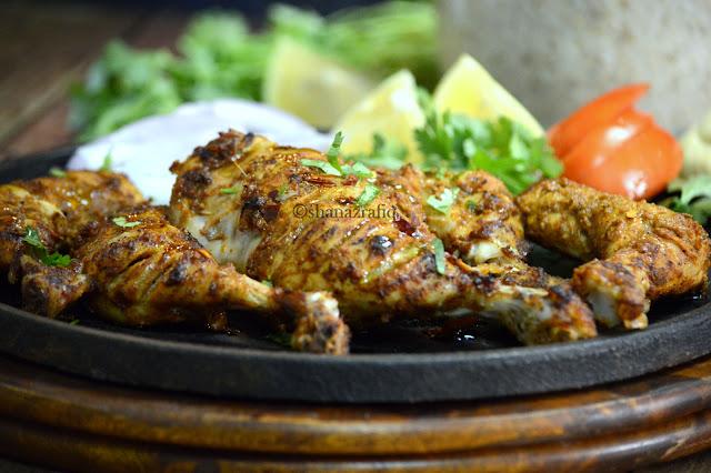 Al Faham grilled chicken ~ Dejaj Al Faham