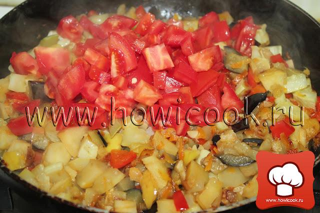 рецепт вкусного овощного рагу пошаговые фото