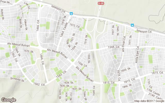 topçu mahallesi harita