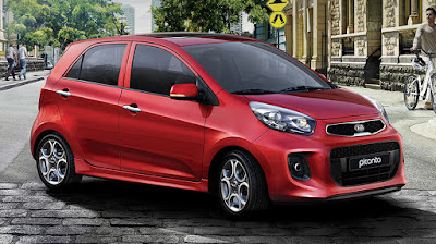 KIA Picanto right side front view three qauters Images