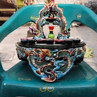 Tebok Lovebird Jati Naga  Airbrush