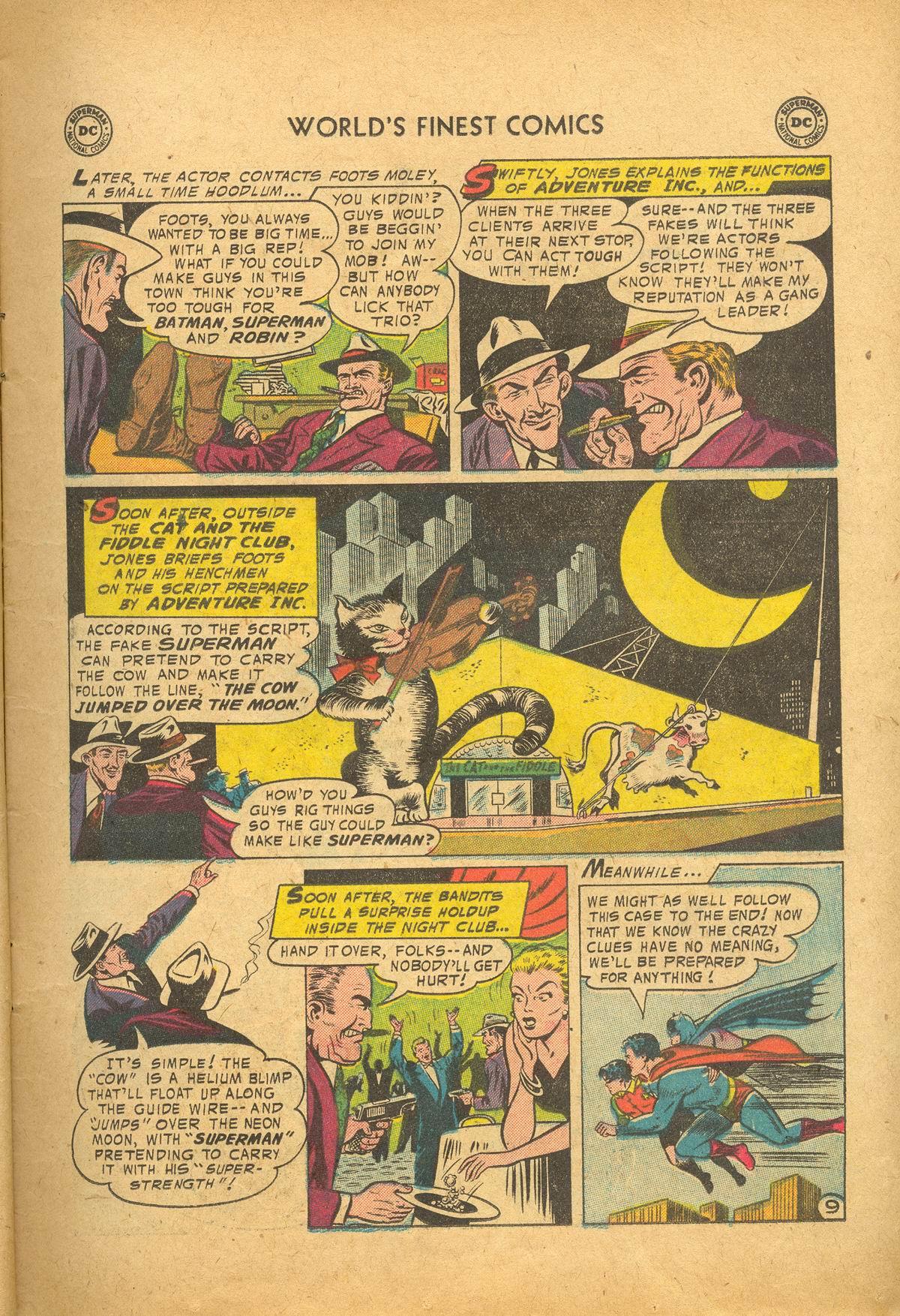 Read online World's Finest Comics comic -  Issue #83 - 11