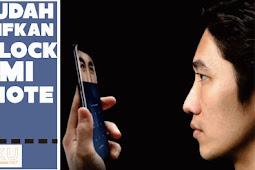 Cara Mengaktifkan Face Unlock Xiaomi Redmi Note 5