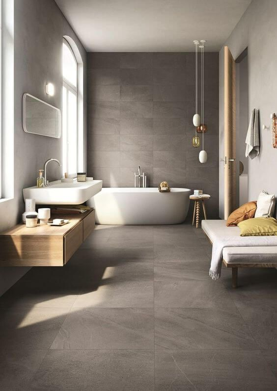 ELEGANT EXAMPLES OF MODERN BATHROOM DESIGN FOR 2019