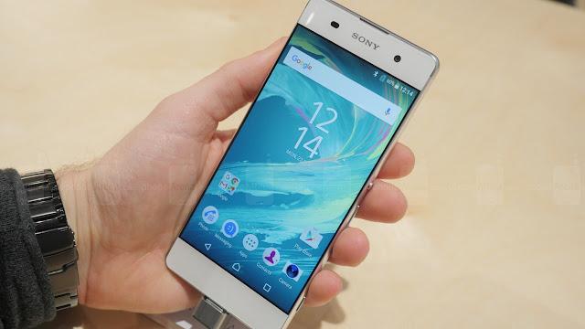 Llego el Xperia XA el smartphone con pantalla curva de Sony