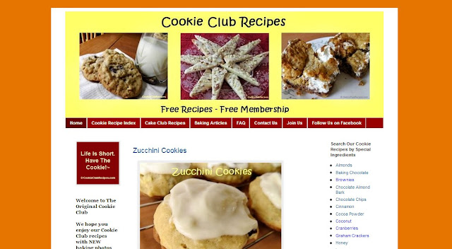 Cookie Club Recipes