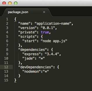 Watch the changes in Expressjs files and auto restart Nodejs