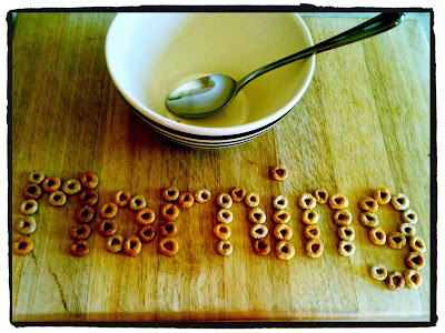 cheerios breakfast morning