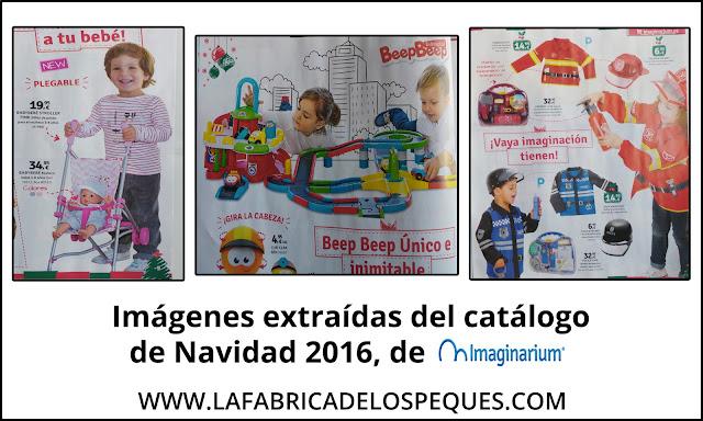 Catálogos de juguetes a examen