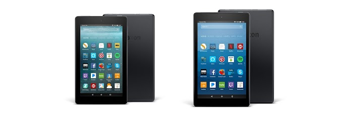 Amazon Fire 7 and Fire HD 8 tablets receive Alexa feature