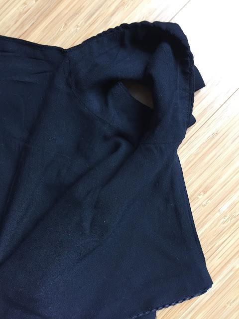 Diary of a Chain Stitcher: Black Viscose Pauline Alice Seda Dress