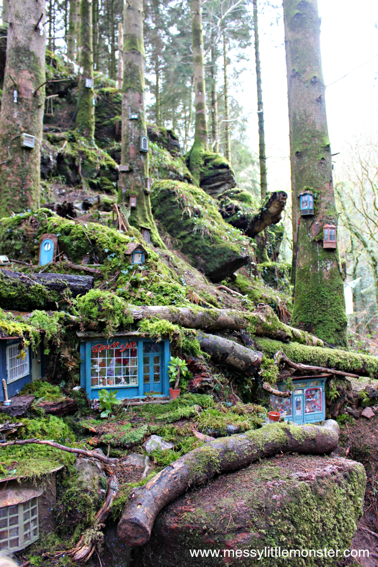 Bluestone Review - the secret village walk hunting for fairy houses in the fairy village