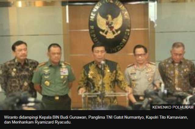 Polemik Senjata Impor, Pelontar Granat Boleh diambil Tapi semua amunisi tajam 'dititip' ke TNI