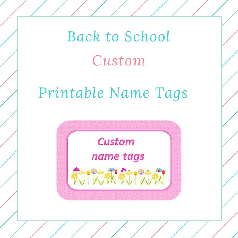 Back To School Custom Girl Printable Name Tags Keeping It Real-8647