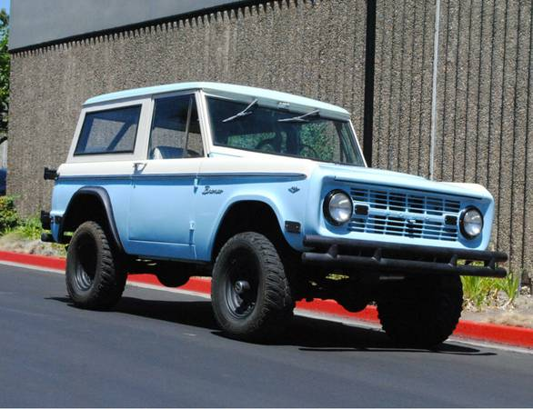 1968 Ford Bronco 4x4 For Sale
