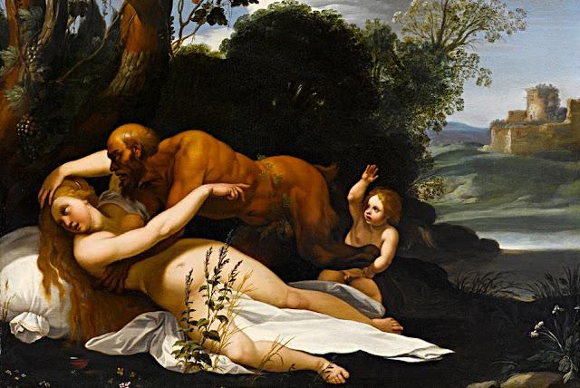 Cavalier d'Arpino - Giove e Antiope - abusi sessuali - arte