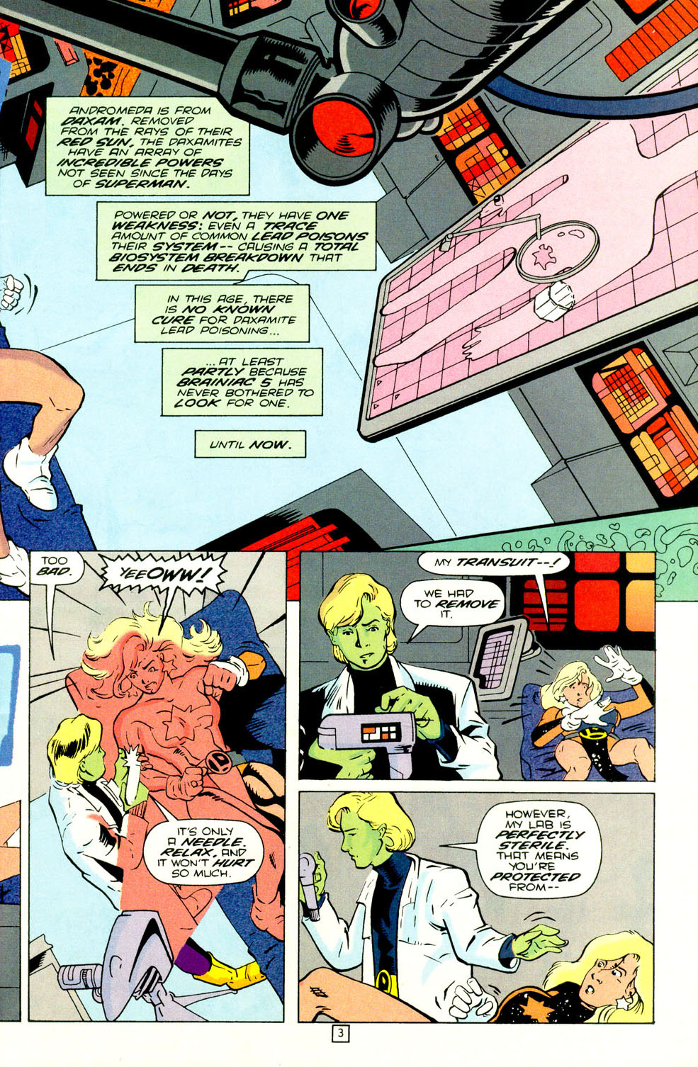 Legion of Super-Heroes (1989) 70 Page 4
