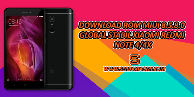 download rom miui 8.5.8.0 note 4  dan 4x