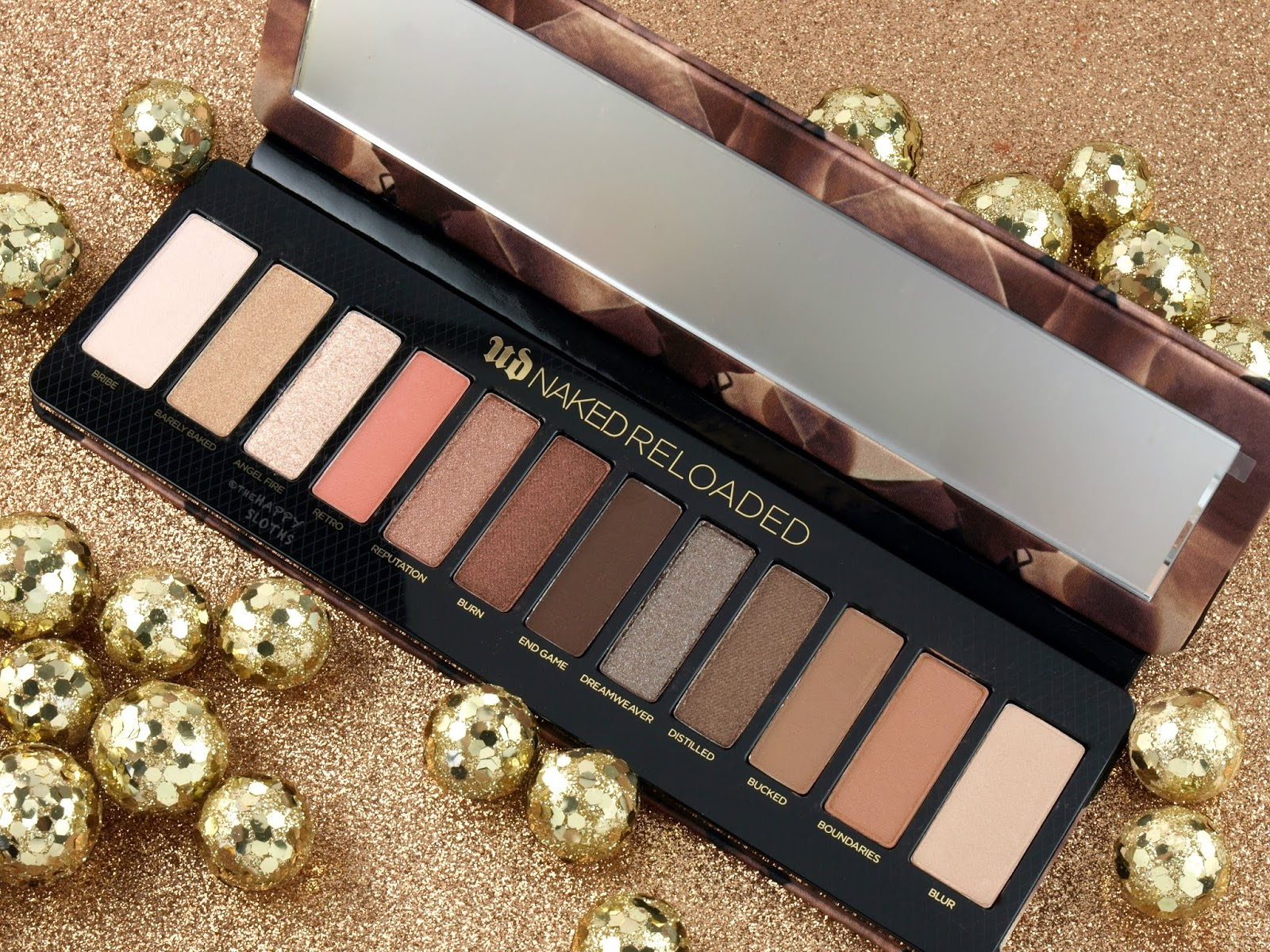 Urban Decay | Naked Reloaded Eyeshadow Palette: Review and Swatches