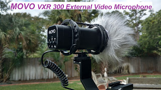 MOVO VXR 300 Compact Stereo Video Microphone