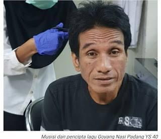 Yanto Sari ditangkap NArkoba