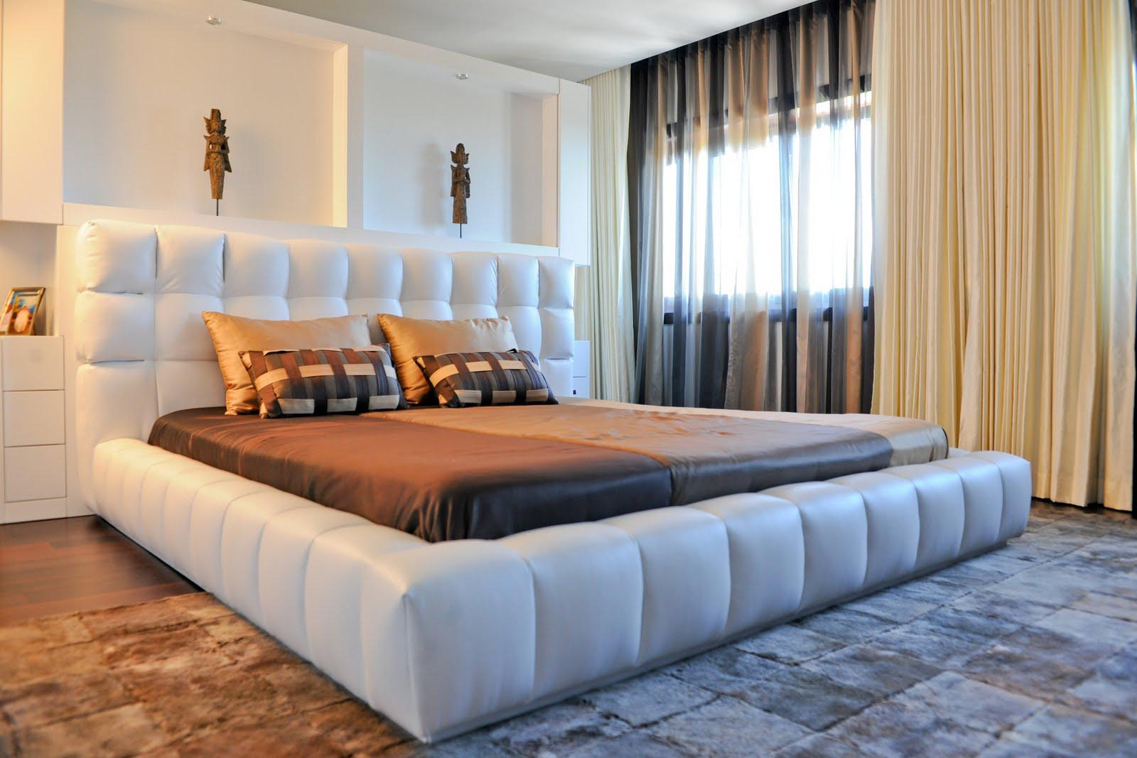 Laskasas quartos modernos decora o e ideias for Catalogo mobilia