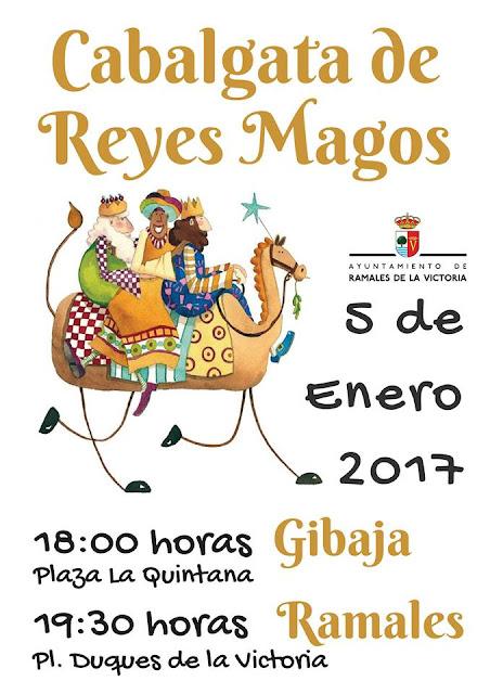 Cabalgata de Reyes 2017 en Ramales de la Victoria
