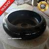 Wastafel marmer tulungagung donat asli batualam diameter 40 cm