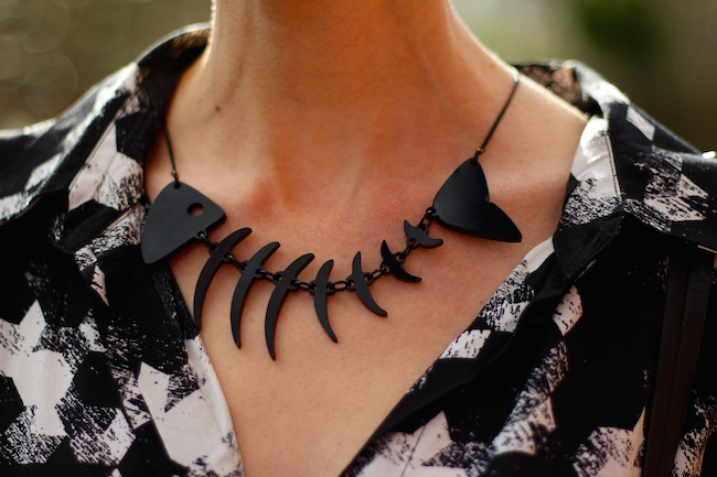 Fake Fabulous | Tatty Devine Fishbone.