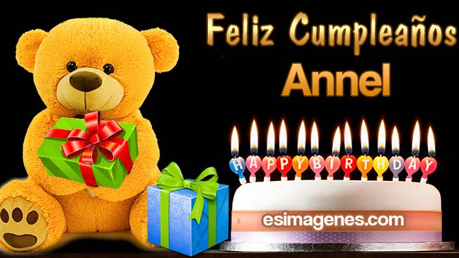 Feliz Cumpleaños Annel
