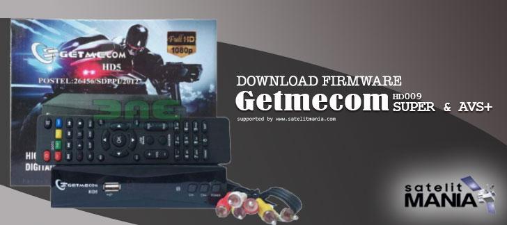 Firmware Getmecom HD009 Super dan AVS+ Terbaru 2019