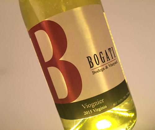 Bogadi Bodega & Vineyard 2015 Viognier