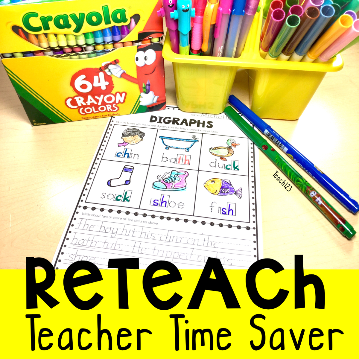 Free Early Finisher Reteach Digraph Sight Words High Frequency Words