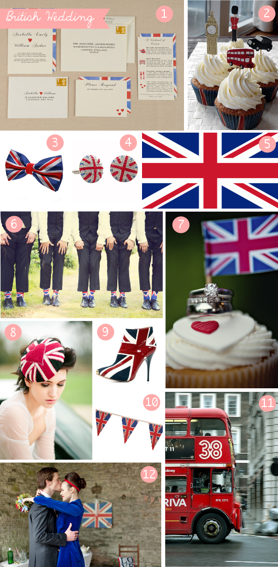 British wedding inspiration