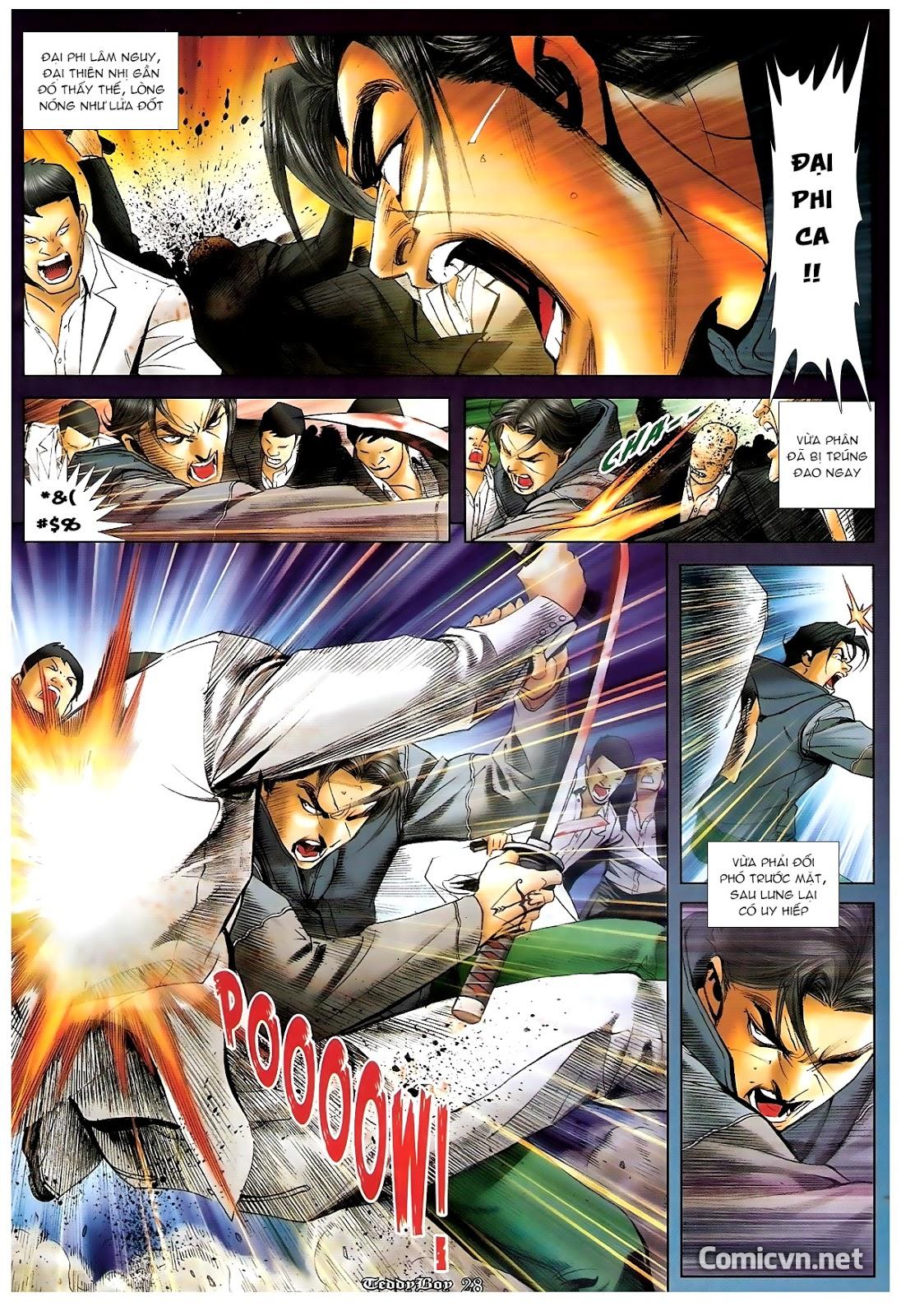 Người Trong Giang Hồ - Chapter 1220: Người đầu tiên lên đường - Pic 22